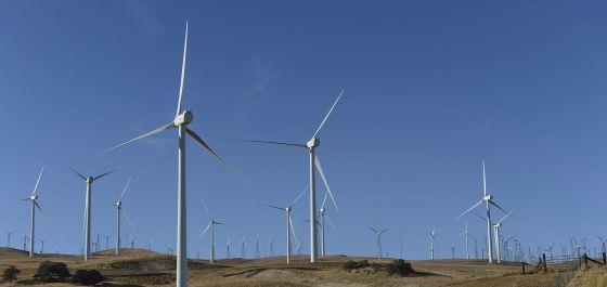 Turbinas de viento para la producción de energía eólica. / EFE